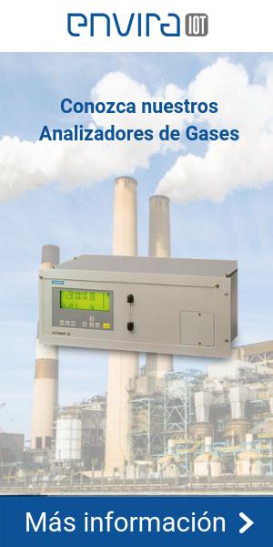¿Qué tipos de analizadores de gases existen?